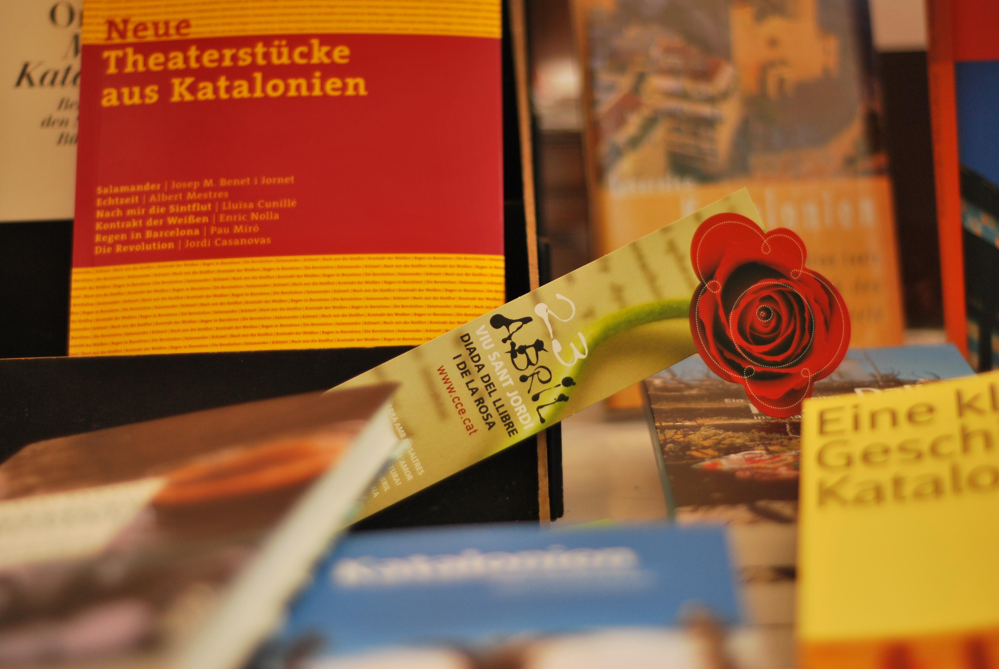 Diada de Sant Jordi a Berlin (c) Olga R Trujillo